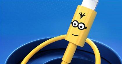 Si eres fan de los Minions te encantará este divertidísimo y nuevo cable lightning