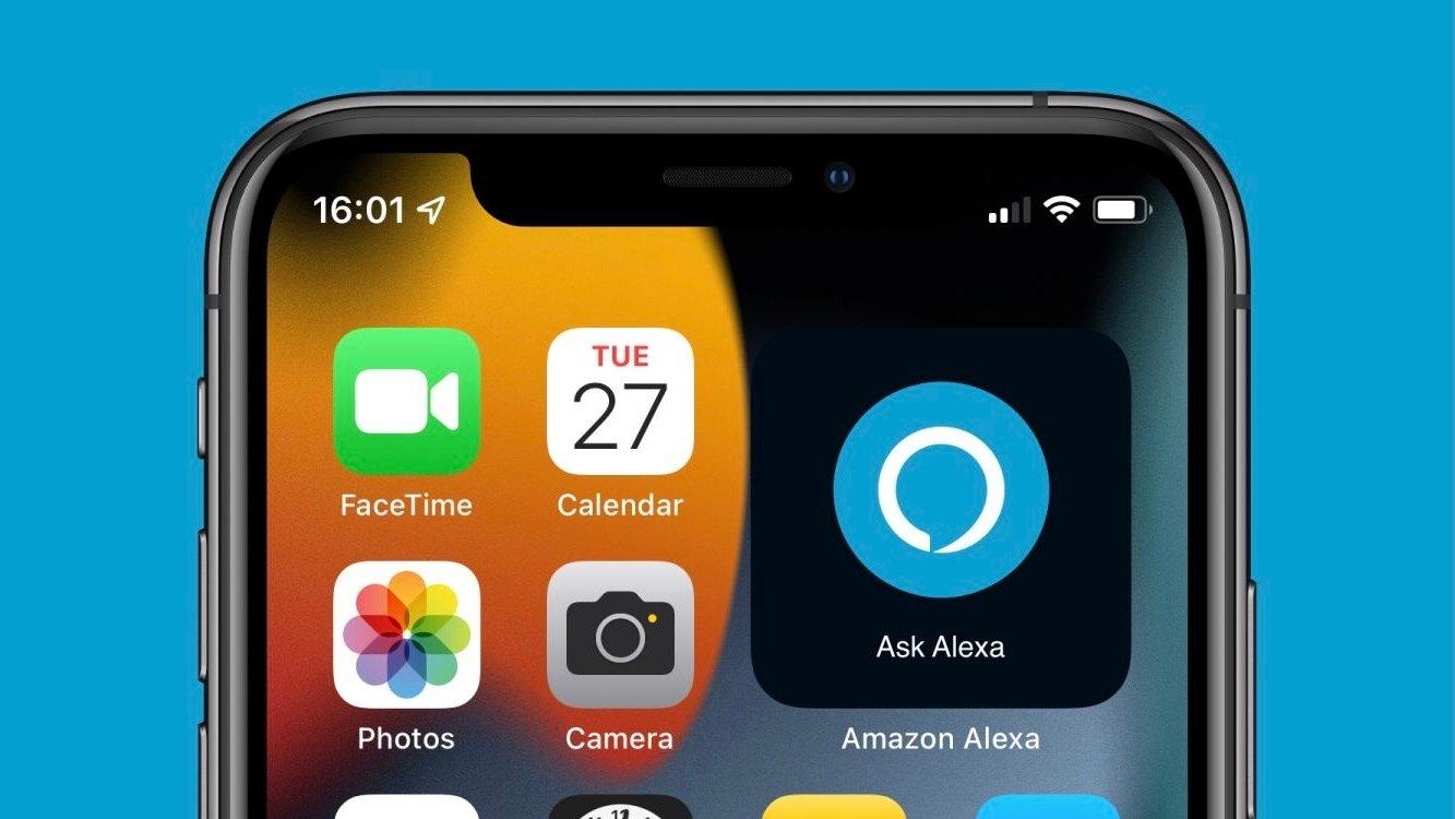 Widget de Alexa para el iPhone