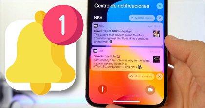 Para saber las notificaciones que recibes cada día en tu iPhone, solo tienes que hacer una cosa
