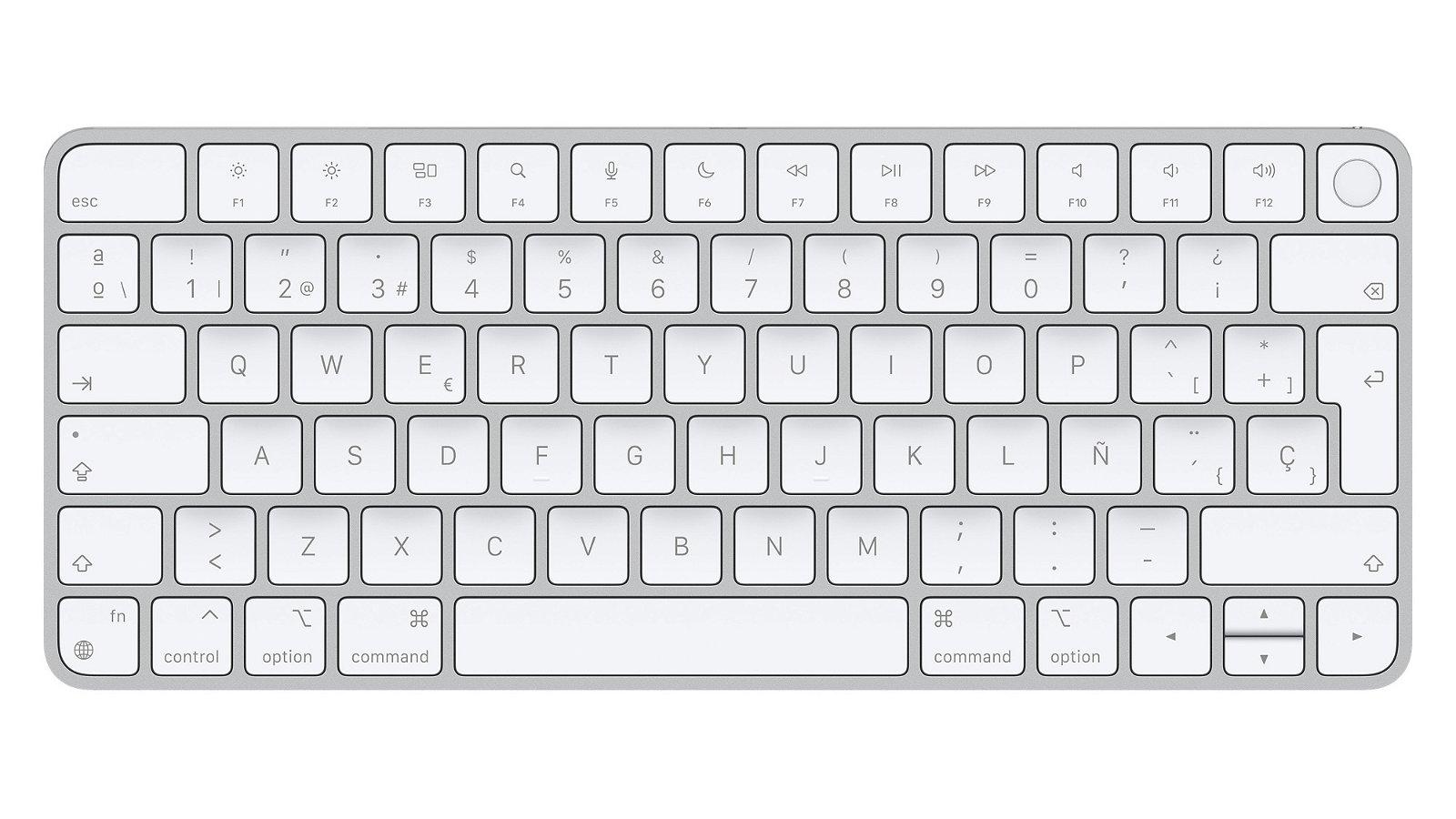 Magic Keyboard con Touch ID para Mac