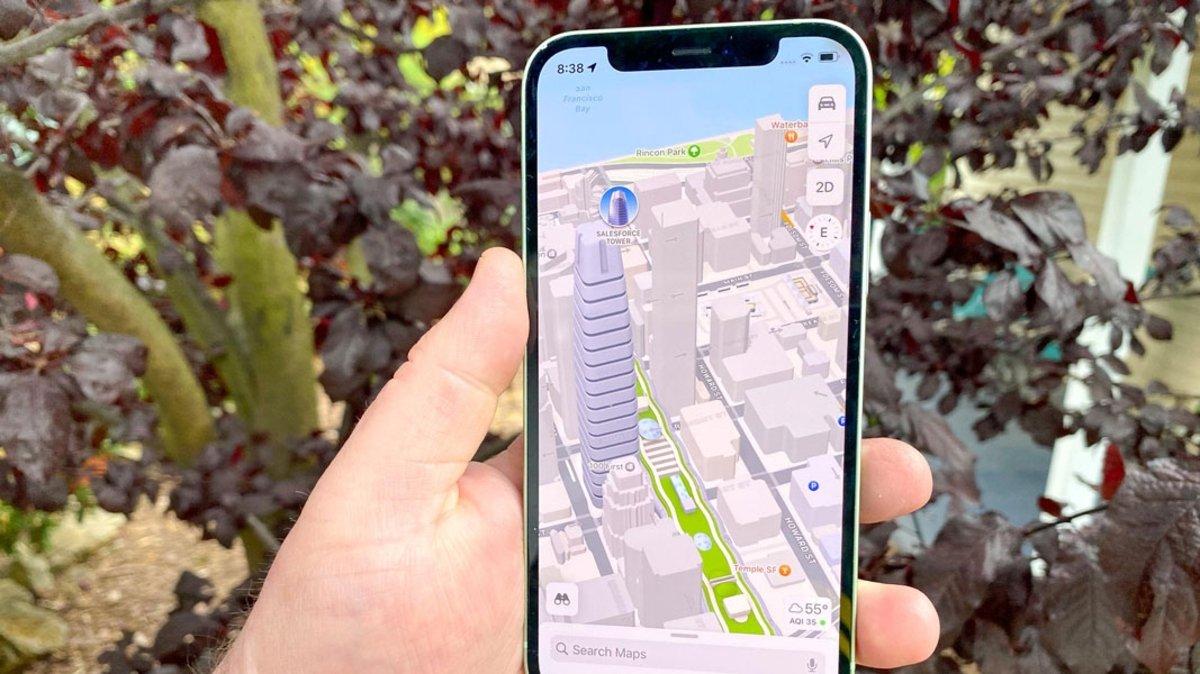 Apple Mapas iOS 15