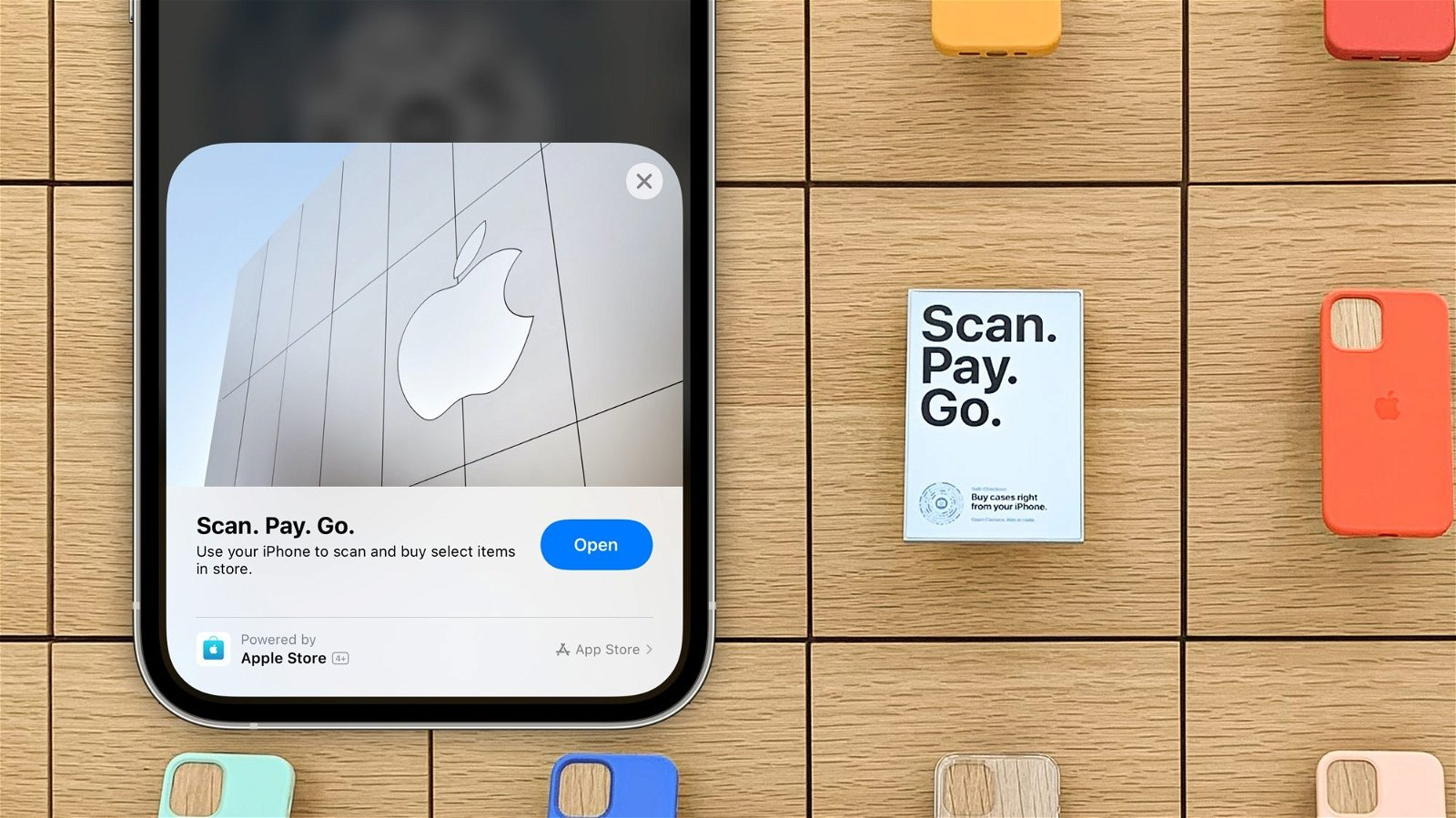 Scan Pay Go Apple Store