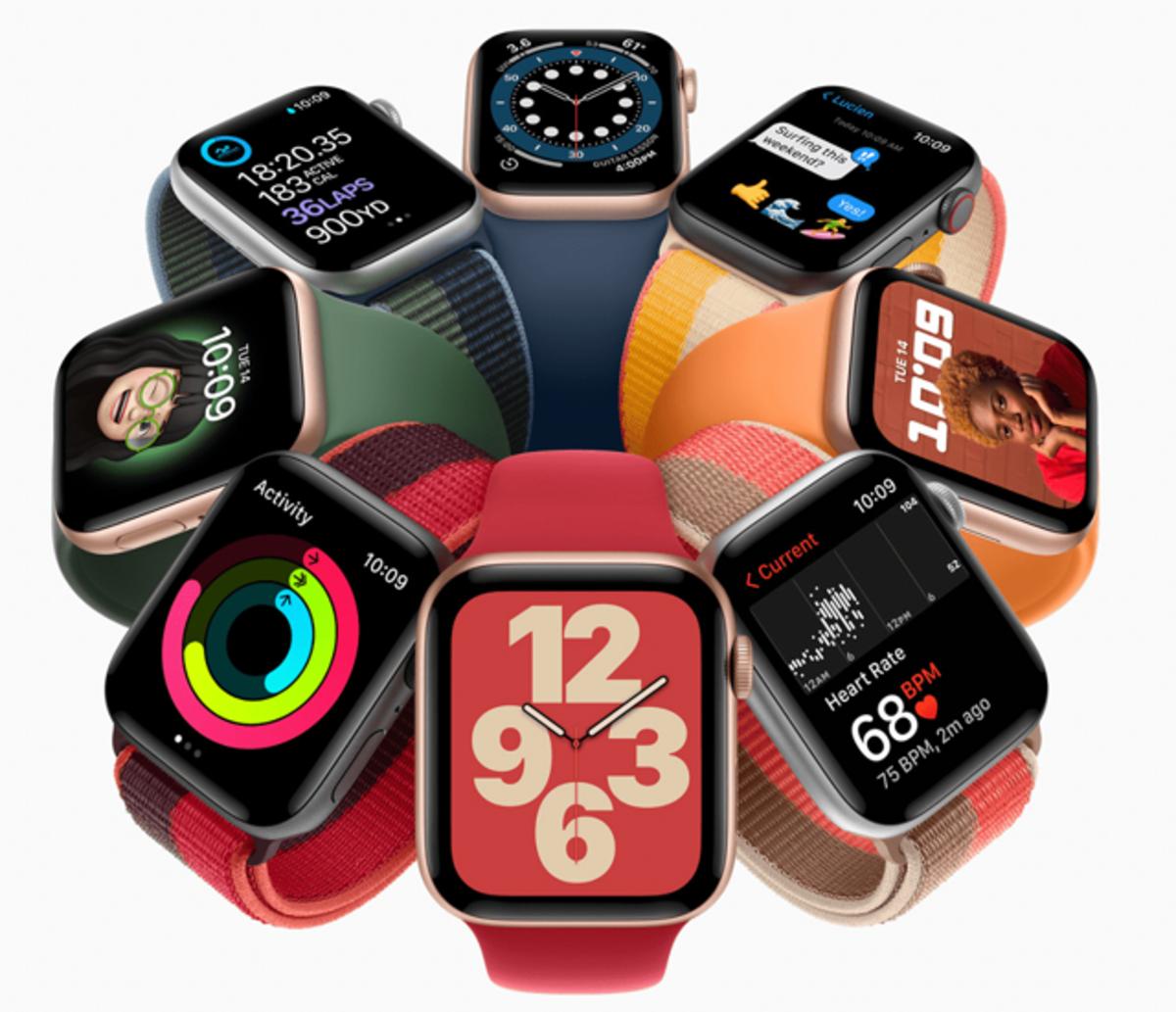 Nuevos Apple Watch Series 7