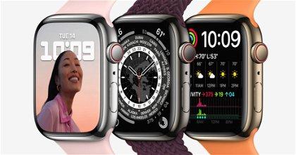 El Apple Watch Series 7 tiene el mismo procesador que el Series 6