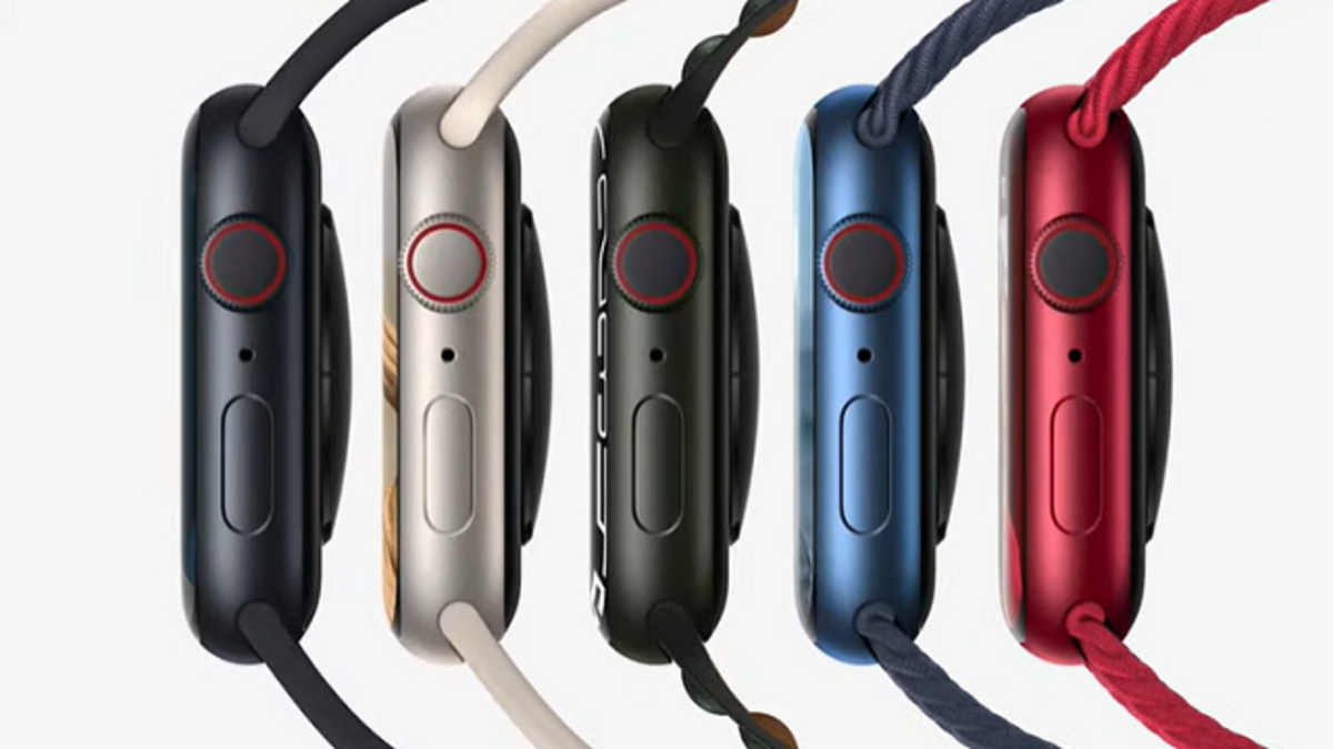 Colores Apple Watch Series 7