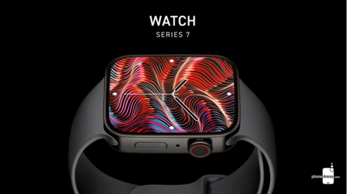 Concepto de Apple Watch Series 7