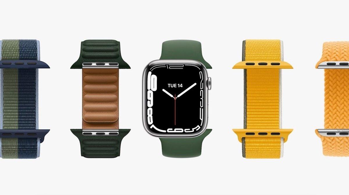Nuevos colores de correas de Apple Watch Series 7