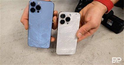 Test de caídas: el iPhone 13 Pro demuestra su resistencia
