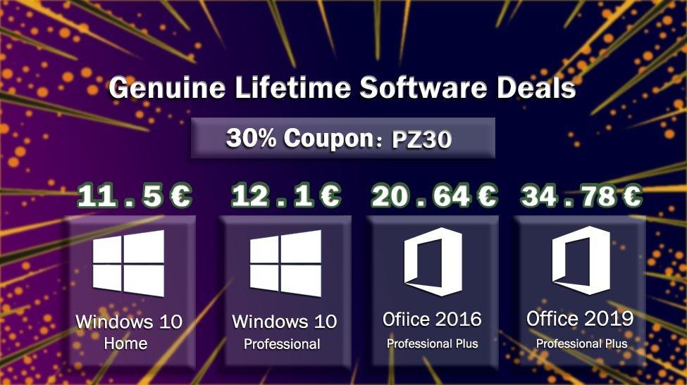 Windows 10 Pro de por vida por solo 12 euros de cdkeylord