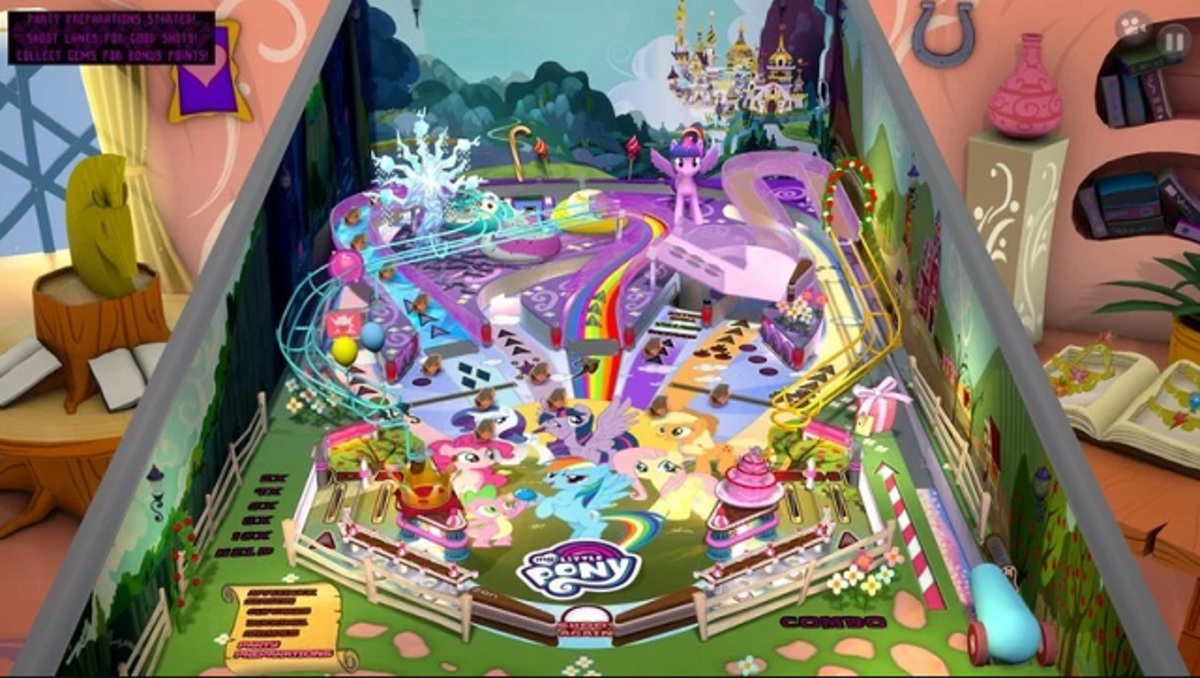 Zen Pinball Party