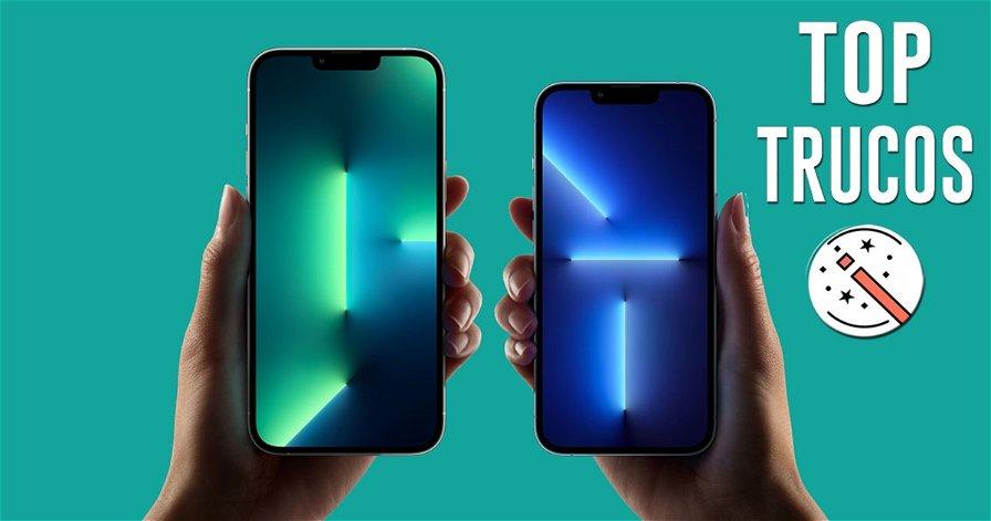 Trucos para el iPhone 13 y 13 Pro: aprende a usar tu flamante móvil