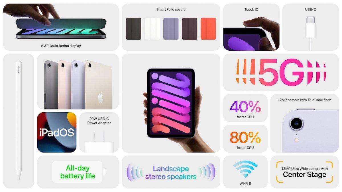 especificaciones iPad mini