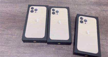 Primer unboxing del iPhone 13 Pro Max