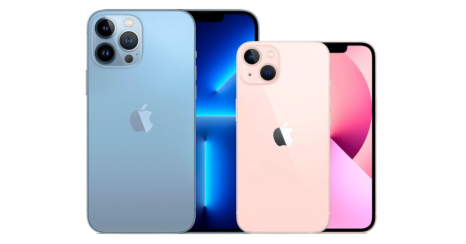 iPhone 13 y 13 Pro