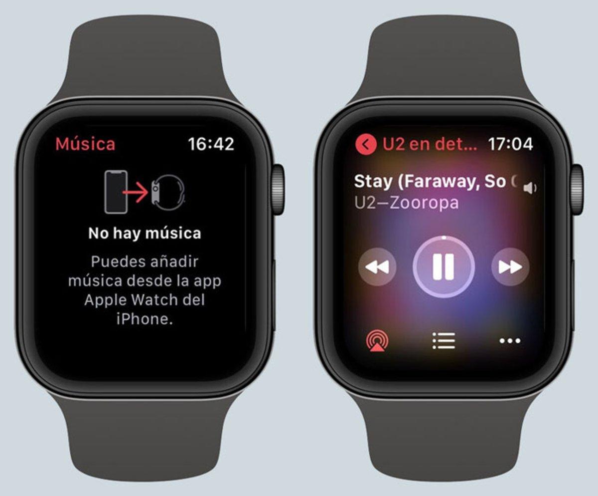 Reproducir música Apple Music Apple Watch