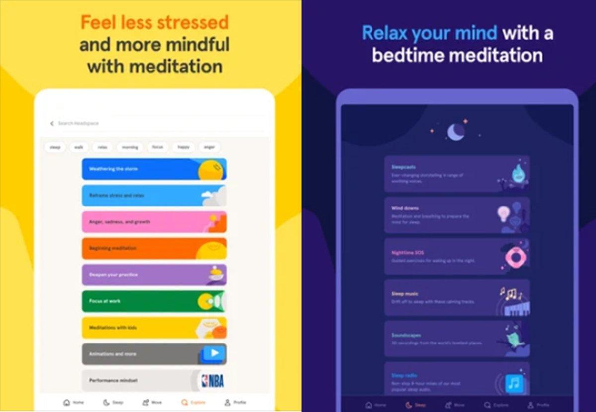 Headspace: bienestar y la salud mental