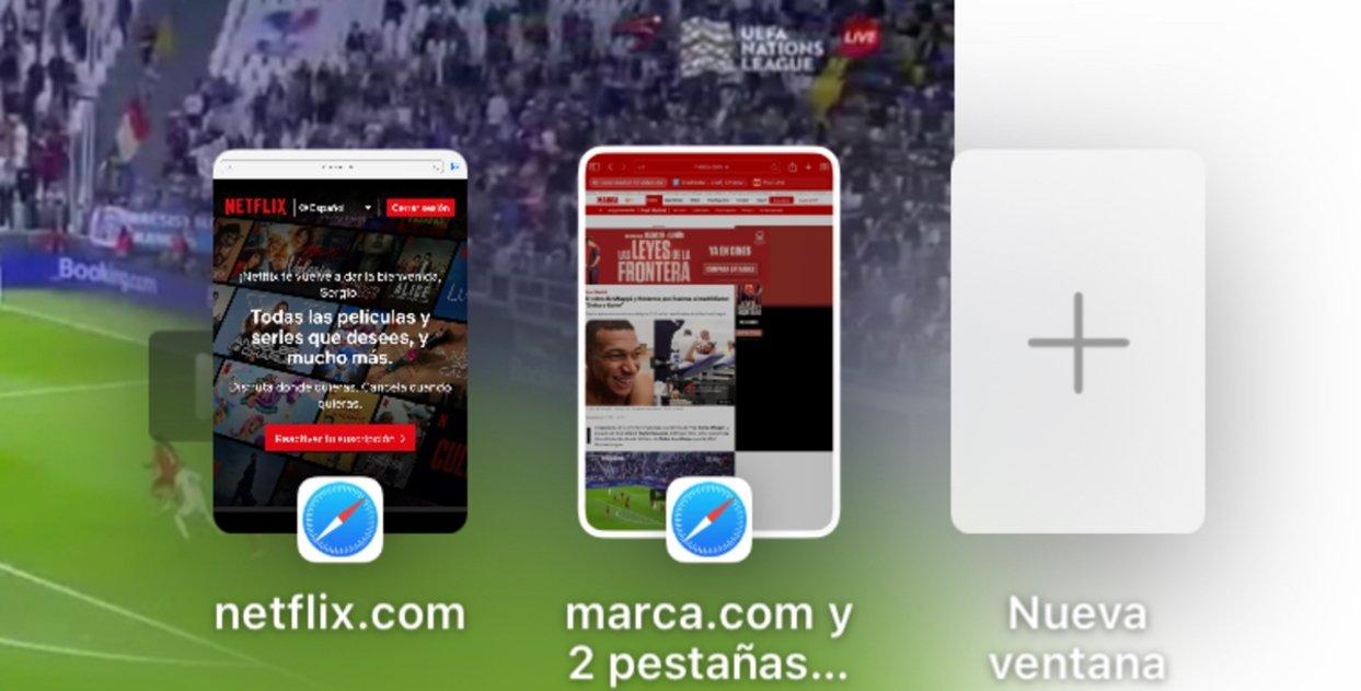 Vista de apps