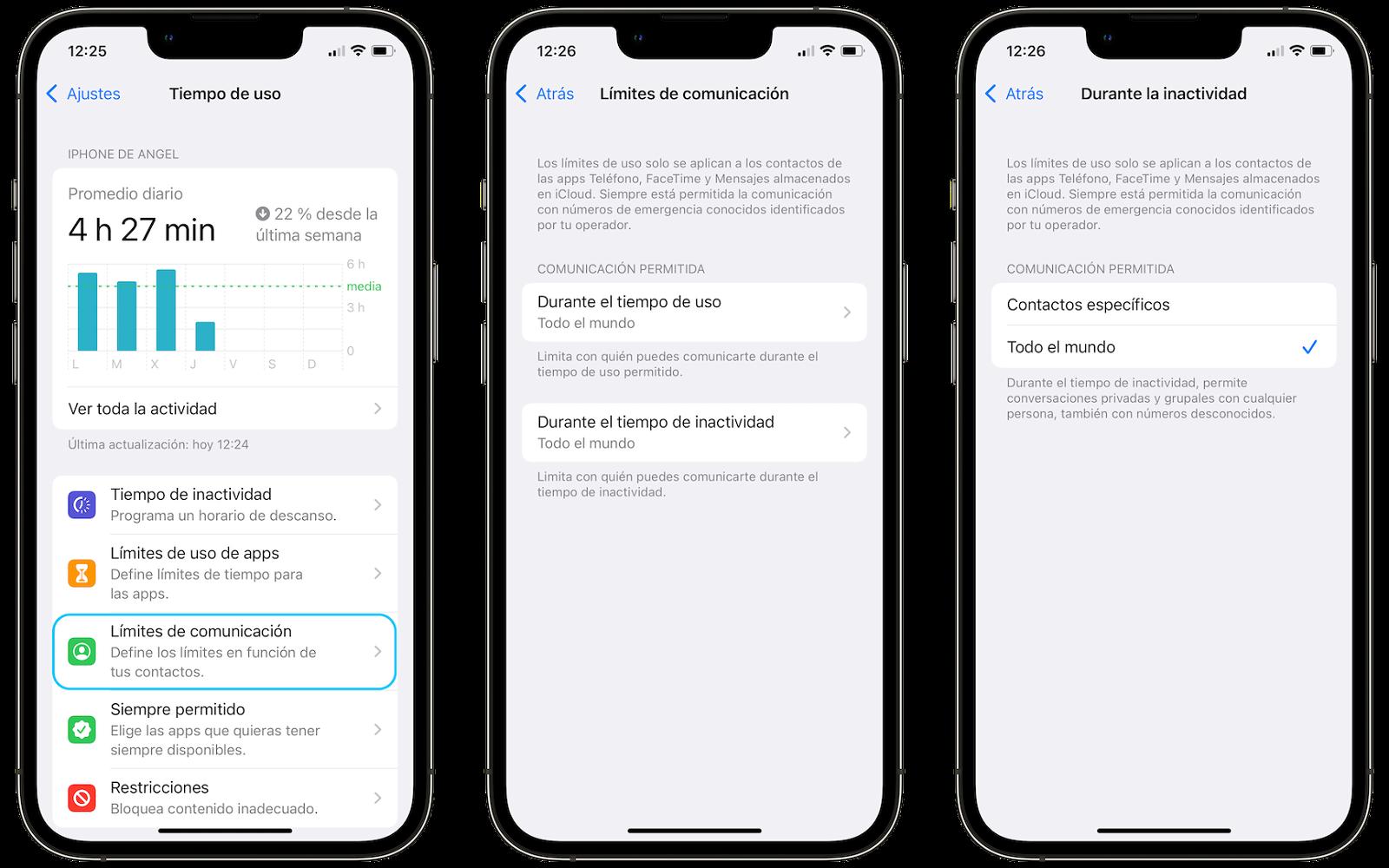 Grenzen der iPhone-Kommunikation