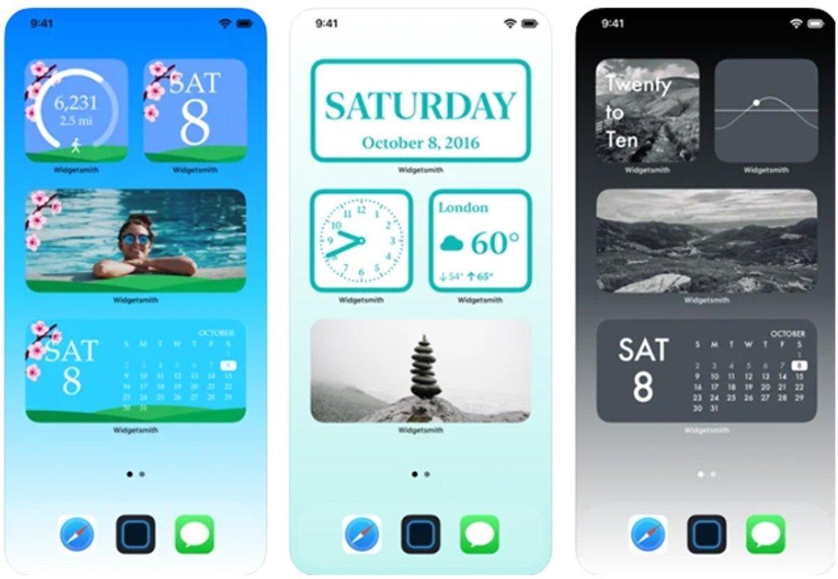 Widgetsmith: para personalizar la pantalla de tu iPhone