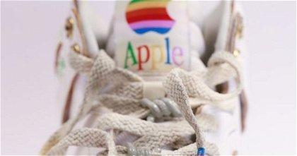 Si Nike hiciera una colección de zapatillas de Apple, se parecería a esto