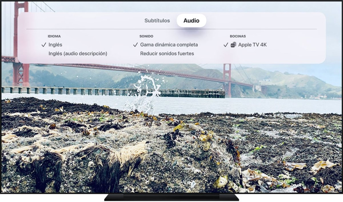 Apple TV cambiar idioma audio subtítulos