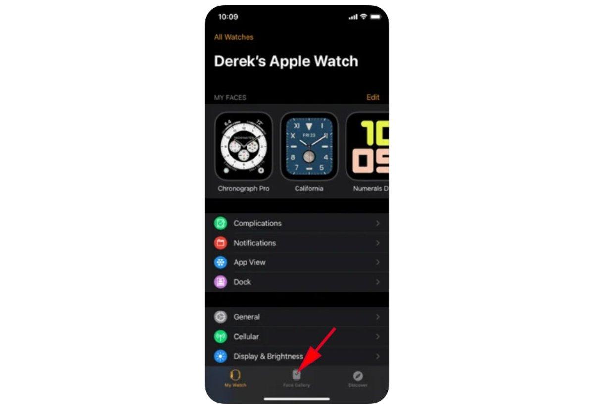 Crear esfera Retratos Apple Watch en iPhone