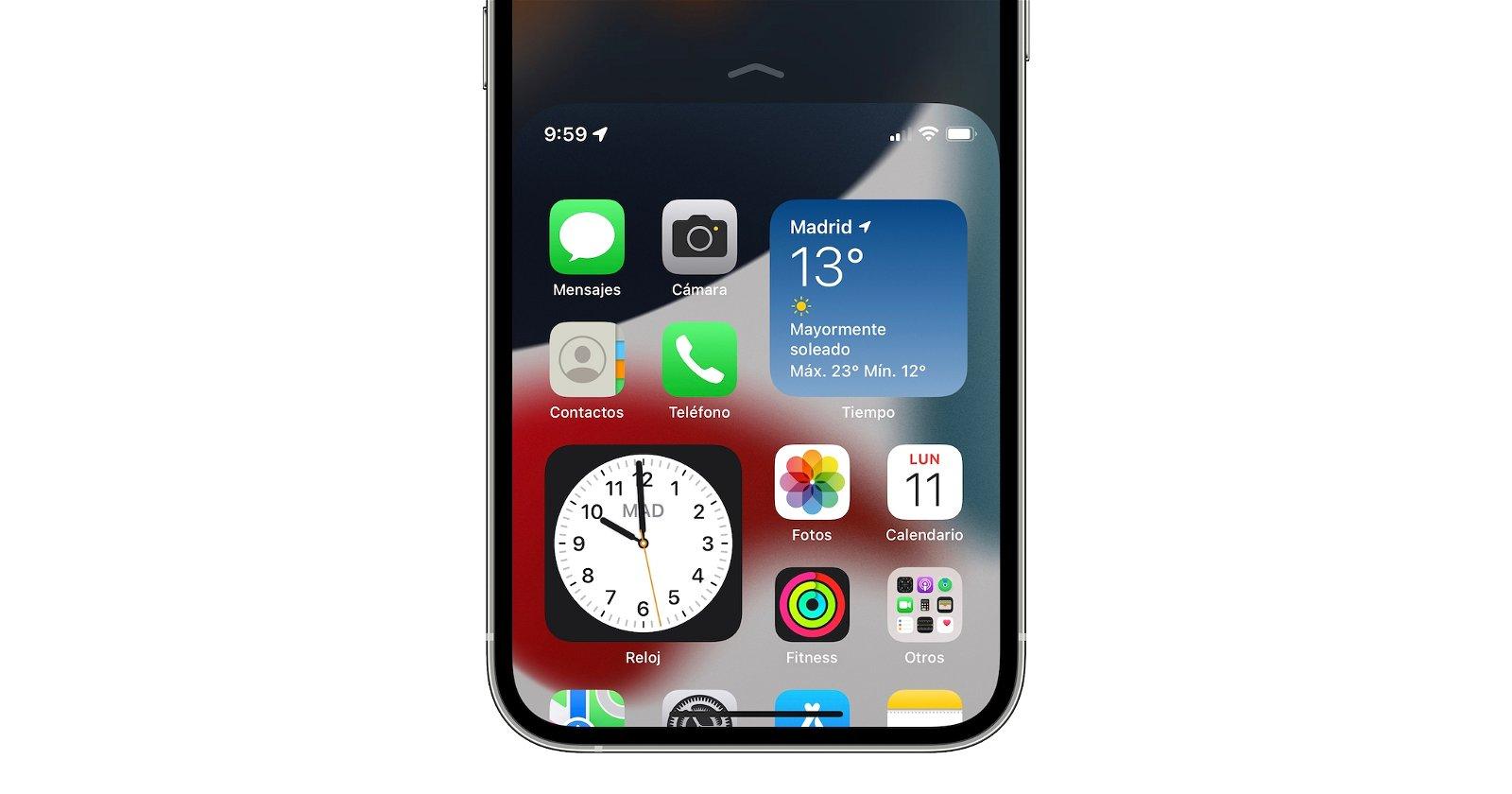 facil alcance iPhone