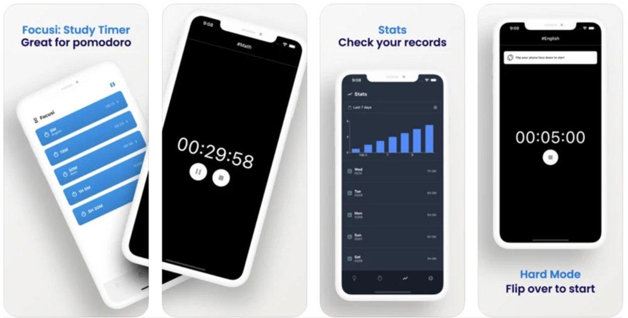 Focusi cronómetro
