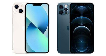 iPhone 13 o iPhone 12 Pro: a igualdad de precio, ¿cuál es más recomendable?