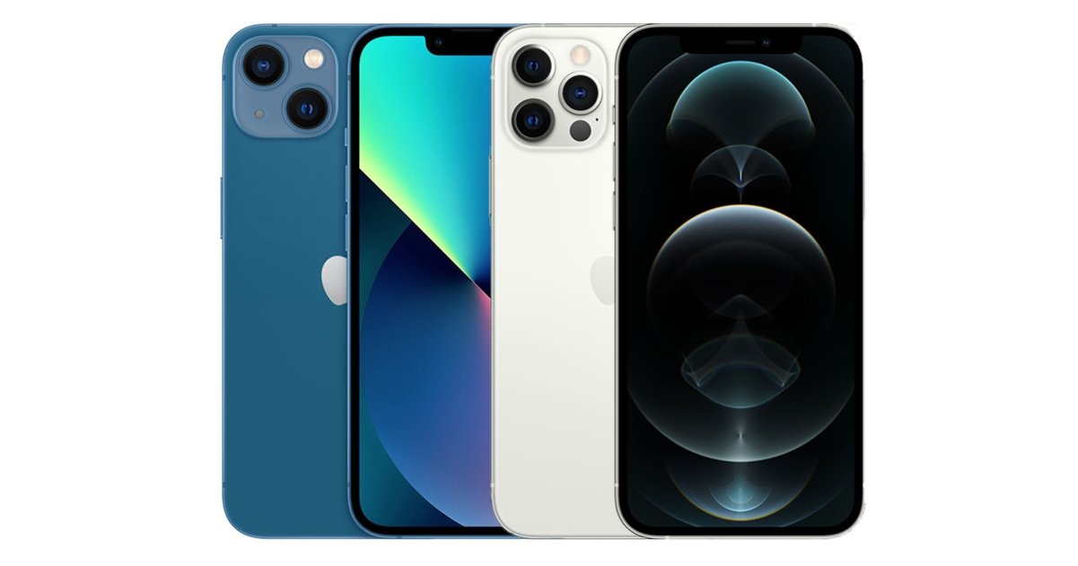iPhone 13 vs iPhone 2 Pro