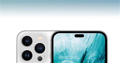 Así podría lucir el iPhone 14 con agujero en pantalla