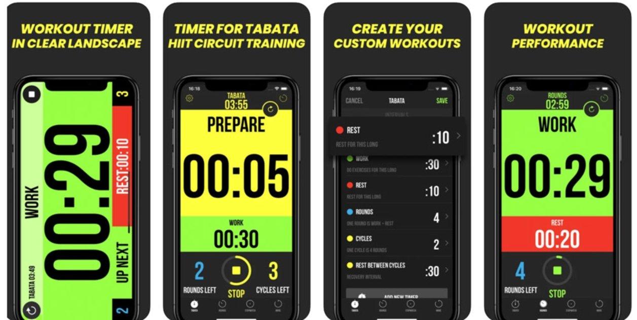 Timer plus workout timer